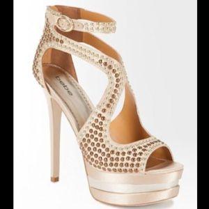 BeBe Candice Studded Platform Stiletto Heels 👡